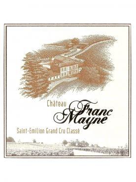 Château Franc Mayne 2018 Original wooden case of 6 bottles (6x75cl)