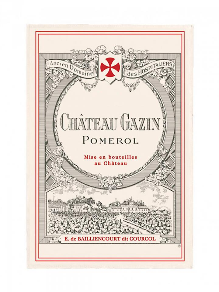 Château Gazin 2014 Original wooden case of 6 bottles (6x75cl)