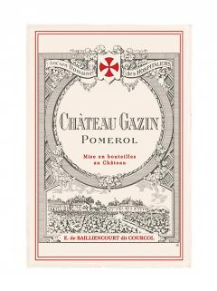 Château Gazin 2013 Original wooden case of 6 bottles (6x75cl)