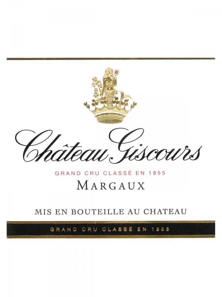 Château Giscours 2012 Original wooden case of 12 bottles (12x75cl)