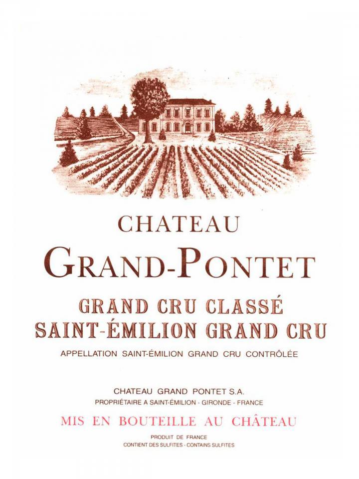 Château Grand Pontet 2011 Original wooden case of 12 bottles (12x75cl)