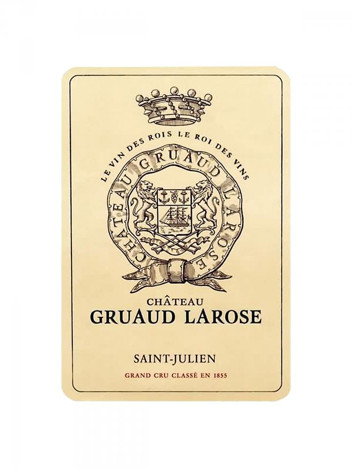 Château Gruaud Larose 2010 Original wooden case of 6 bottles (6x75cl)