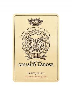 Château Gruaud Larose 2003 Original wooden case of 12 bottles (12x75cl)