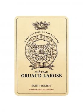 Château Gruaud Larose 2008 Original wooden case of 12 bottles (12x75cl)