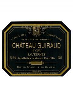 Château Guiraud 2011 Original wooden case of 12 half bottles (12x37.5cl)