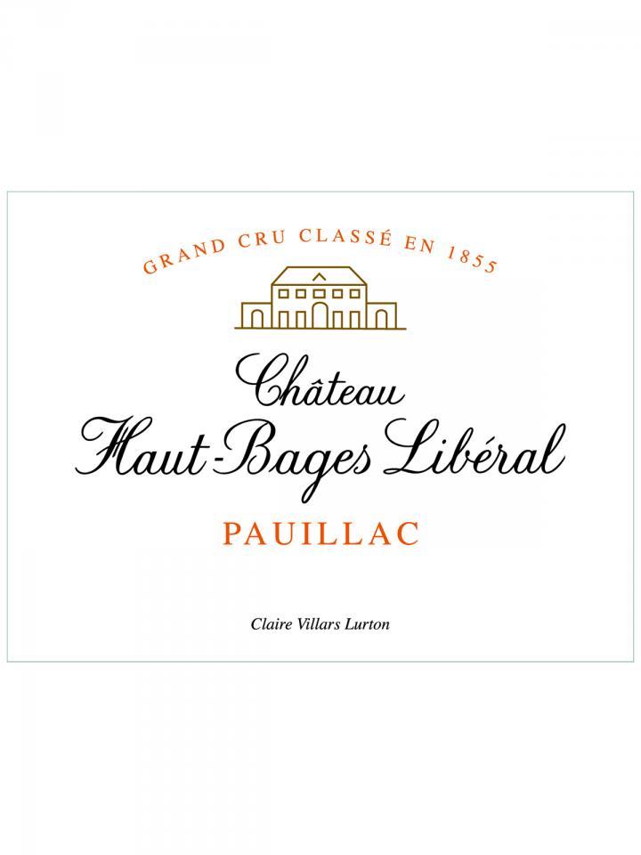 Château Haut-Bages Libéral 2001 Original wooden case of 12 bottles (12x75cl)