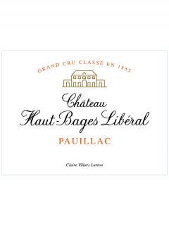Château Haut-Bages Libéral 2008 Original wooden case of 6 bottles (6x75cl)