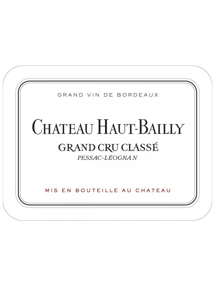 Château Haut-Bailly 2002 Original wooden case of 12 bottles (12x75cl)