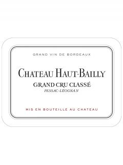 Château Haut-Bailly 2014 Original wooden case of 3 magnums (3x150cl)