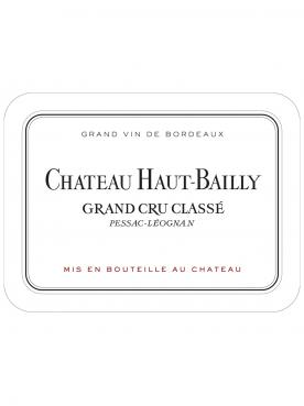 Château Haut-Bailly 2016 Original wooden case of 6 bottles (6x75cl)