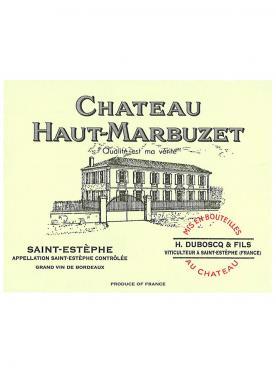 Château Haut-Marbuzet 2016 Original wooden case of 12 bottles (12x75cl)