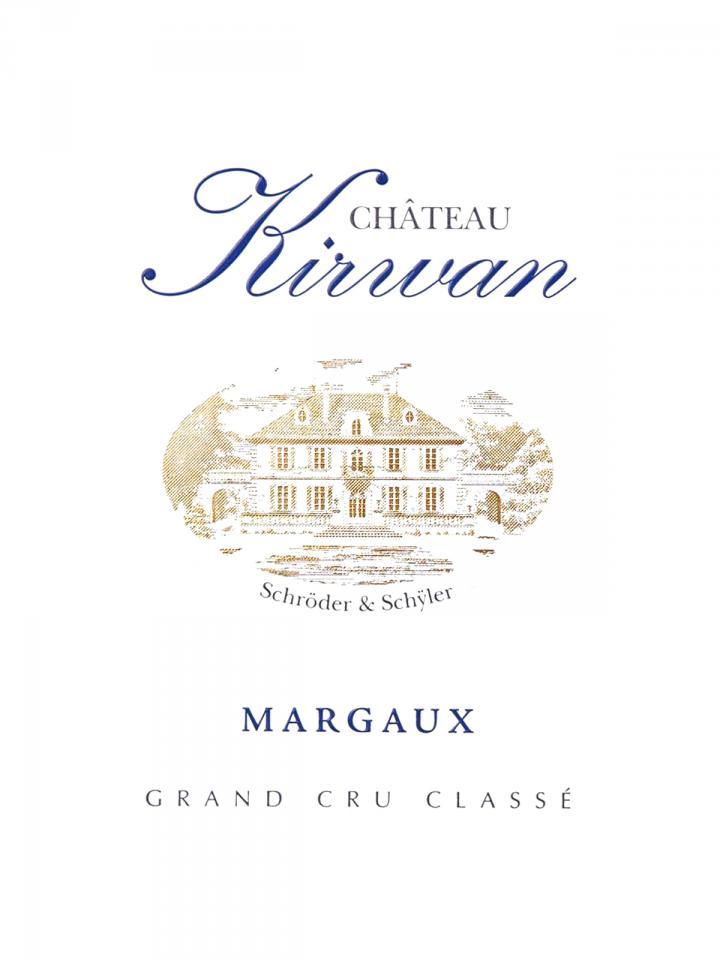 Château Kirwan 2012 Original wooden case of 6 bottles (6x75cl)