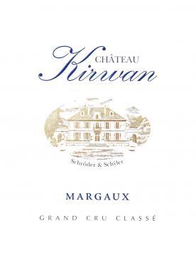 Château Kirwan 2004 Original wooden case of 6 bottles (6x75cl)