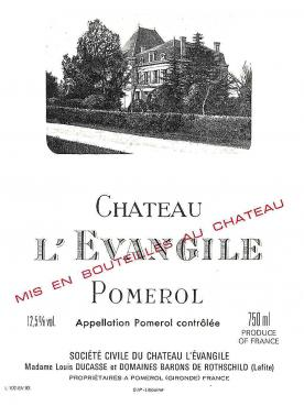 Château l'Evangile 2015 Original wooden case of 12 bottles (12x75cl)