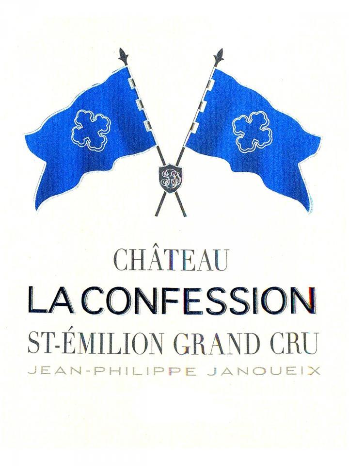 Château La Confession 2013 Original wooden case of 12 bottles (12x75cl)