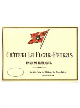 Château La Fleur-Pétrus 2000 Original wooden case of 12 bottles (12x75cl)
