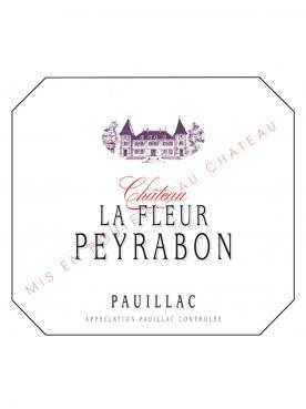 Château La Fleur Peyrabon 2018 Original wooden case of 6 bottles (6x75cl)