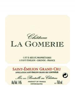 Château La Gomerie 2001 Original wooden case of one double magnum (1x300cl)