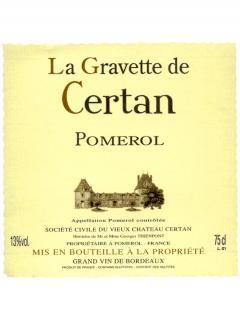 Château La Gravette de Certan 2015 Original wooden case of 12 bottles (12x75cl)