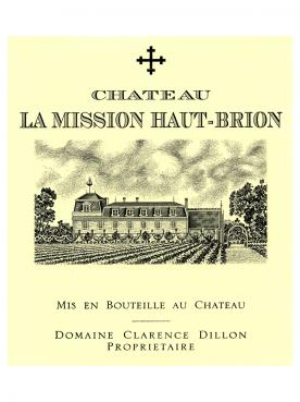 Château La Mission Haut-Brion 2012 Original wooden case of 6 bottles (6x75cl)