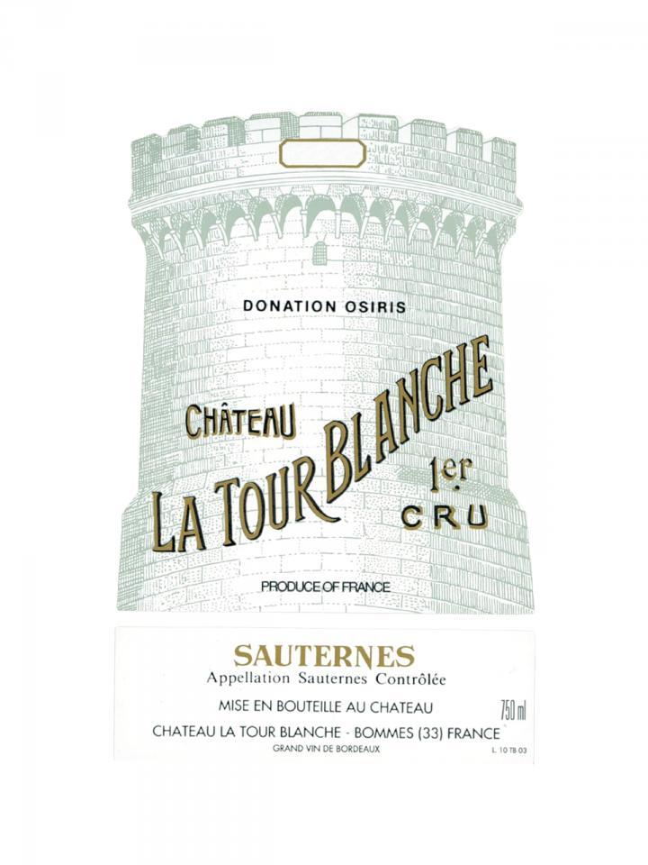 Château La Tour Blanche 1969 Bottle (75cl)
