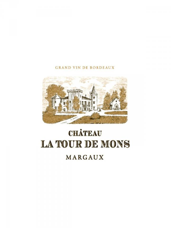 Château La Tour de Mons 2013 Original wooden case of 12 bottles (12x75cl)