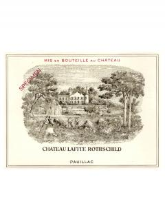 Château Lafite Rothschild 1986 Original wooden case of 12 bottles (12x75cl)