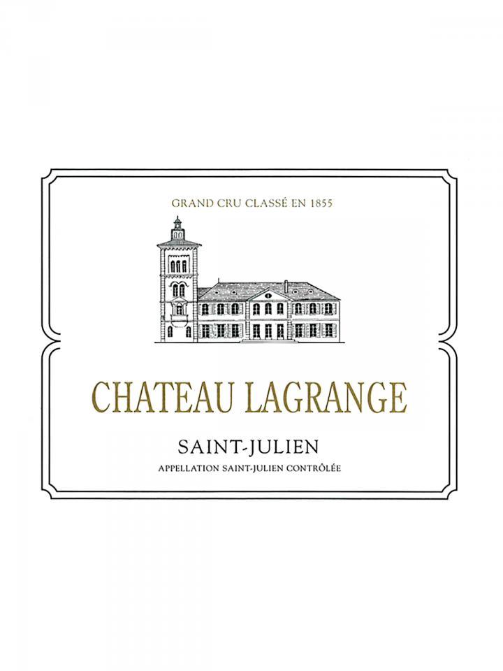 Château Lagrange (Saint Julien) 2018 Original wooden case of 12 bottles (12x75cl)