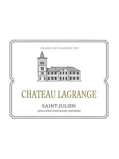 Château Lagrange (Saint Julien) 2017 Original wooden case of 12 bottles (12x75cl)