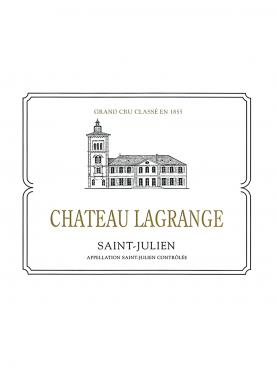 Château Lagrange (Saint Julien) 2018 Original wooden case of 6 bottles (6x75cl)
