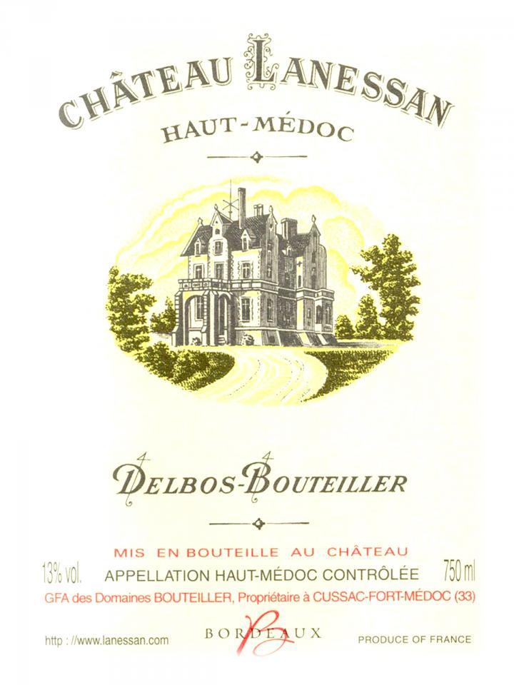 Château Lanessan 2014 Original wooden case of 12 bottles (12x75cl)