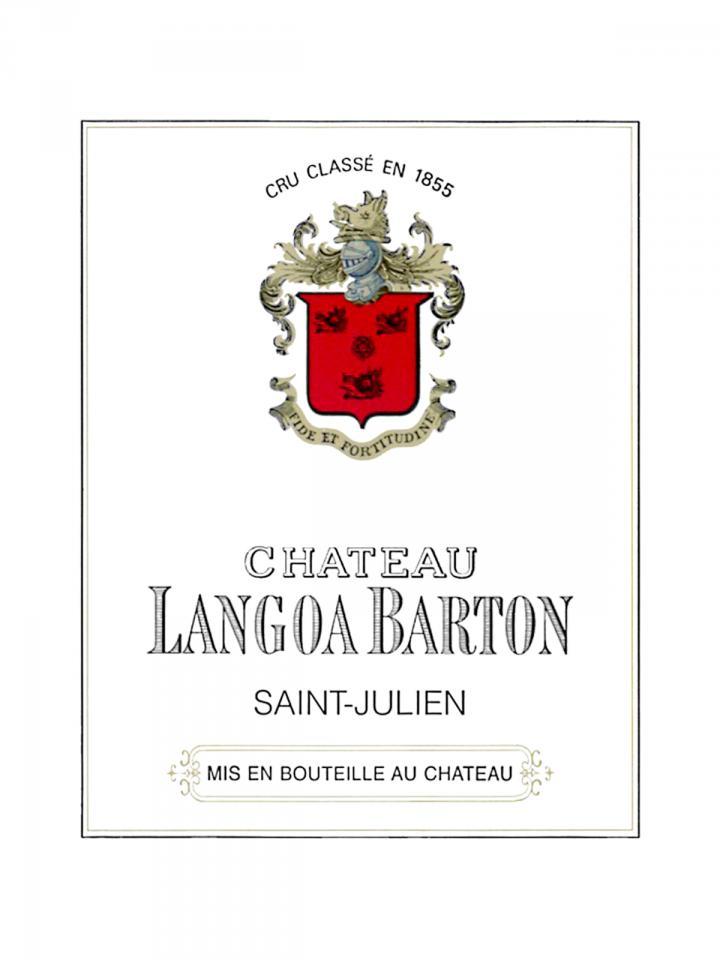 Château Langoa-Barton 2013 Original wooden case of 12 bottles (12x75cl)