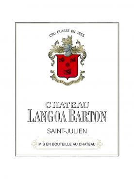 Château Langoa-Barton 2012 Original wooden case of 12 bottles (12x75cl)