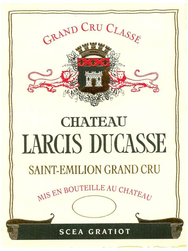 Château Larcis Ducasse 2018 Original wooden case of 6 bottles (6x75cl)
