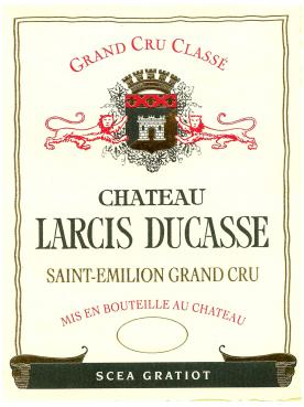 Château Larcis Ducasse 2000 Original wooden case of 12 bottles (12x75cl)