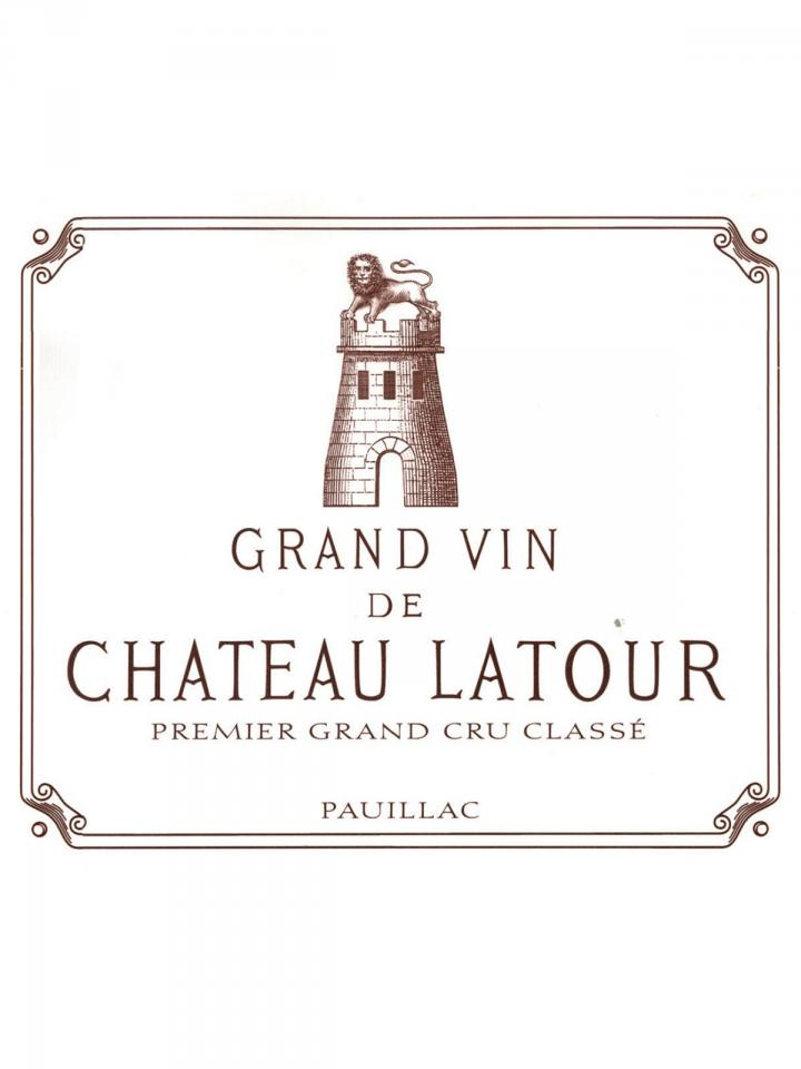 Château Latour 1999 Original wooden case of 12 bottles (12x75cl)