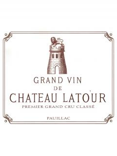Château Latour 2008 Original wooden case of 6 bottles (6x75cl)
