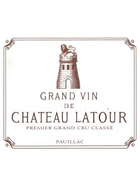 Château Latour 2012 Original wooden case of 3 bottles (3x75cl)