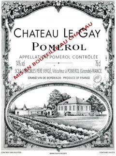 Château Le Gay 2012 Original wooden case of 12 bottles (12x75cl)