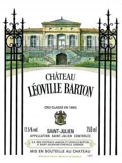 Château Léoville Barton 1999 Original wooden case of 12 bottles (12x75cl)