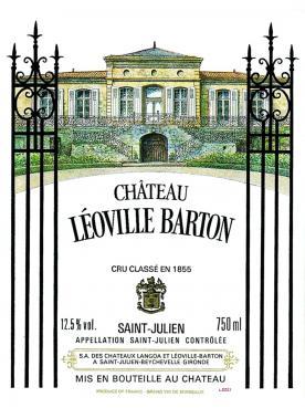 Château Léoville Barton 2018 Original wooden case of one double magnum (1x300cl)