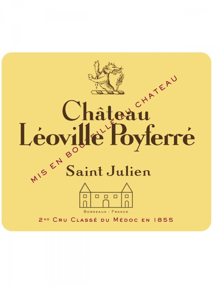 Château Léoville Poyferré 1989 Original wooden case of 12 bottles (12x75cl)