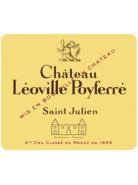 Château Léoville Poyferré 2008 Original wooden case of 6 bottles (6x75cl)