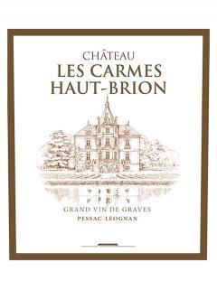 Château Les Carmes Haut-Brion 2014 Original wooden case of 12 bottles (12x75cl)