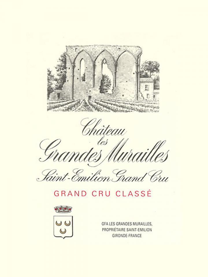 Château Les Grandes Murailles 1959 Bottle (75cl)
