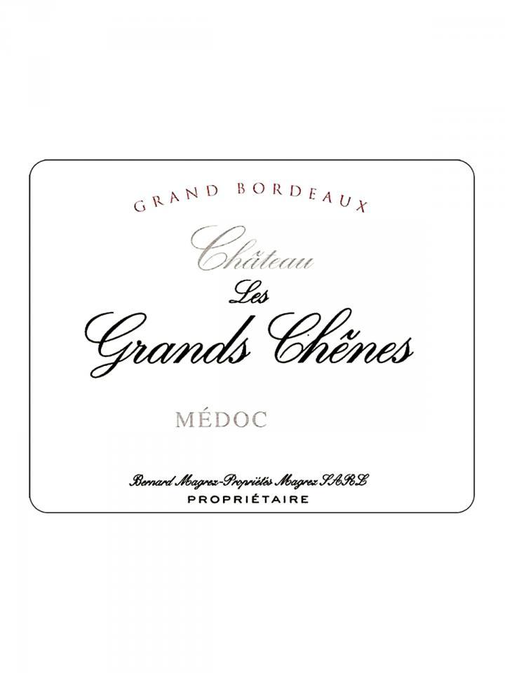 Château Les Grands Chênes 2014 Original wooden case of 6 bottles (6x75cl)