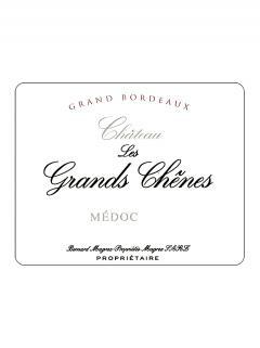 Château Les Grands Chênes 2017 Original wooden case of 12 bottles (12x75cl)