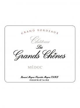 Château Les Grands Chênes 2017 Original wooden case of 6 bottles (6x75cl)