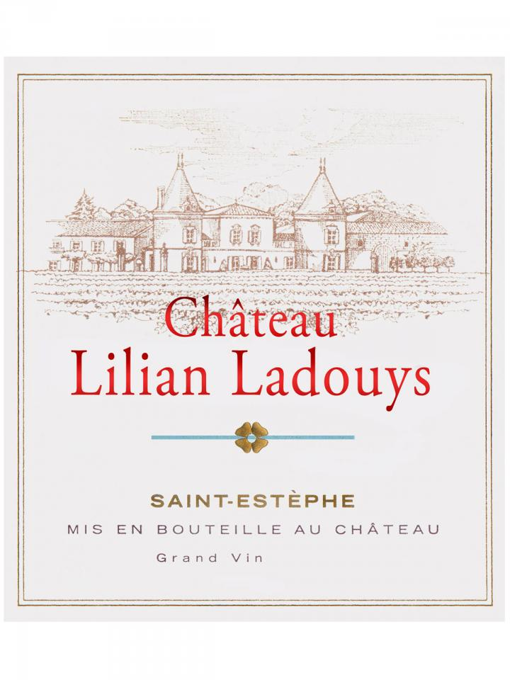 Château Lilian Ladouys 2014 Original wooden case of 6 bottles (6x75cl)