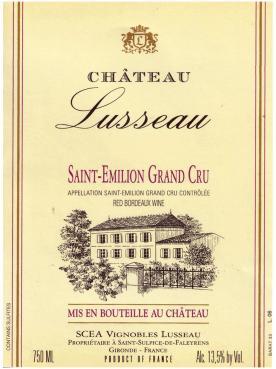 Château Lusseau 2017 6 bottles (6x75cl)